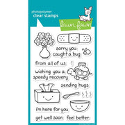 Lawn Fawn - On the Mend - Clear Stamp Set