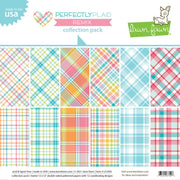 "12"" x 12"" paper pad - Perfectly Plaid"