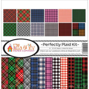 "12"" x 12"" paper pad - Perfectly Plaid Kit"