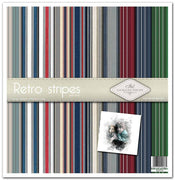"11.8"" x 12.1"" paper pad - Retro stripes"