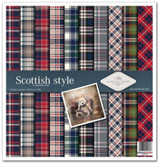 "11.8"" x 12.1"" paper pad - Scottish style"