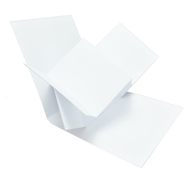 GoatBox Pop Up twist card base - white matte - Crafty Wizard
