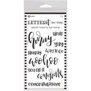 Ranger Letter It - Celebrate - Clear Stamp Set - Crafty Wizard