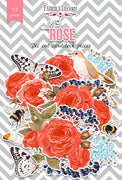 57pcs Red Rose die cuts - Crafty Wizard