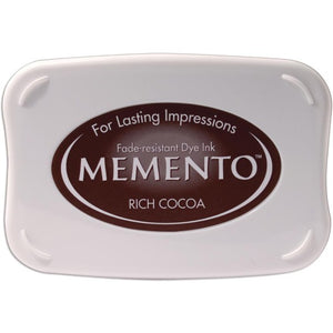 Tsukineko Memento Ink Pad - Rich Cocoa - Crafty Wizard