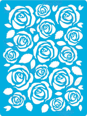 Roses background - Crafty Wizard