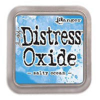 Tim Holtz Distress Oxide Ink Pad - Salty Ocean - Crafty Wizard