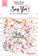 65pcs Say Yes die cuts - Crafty Wizard
