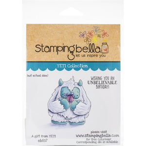 Stamping Bella  - A gift from Yeti - Rubber Stamp Set - Crafty Wizard