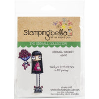 Stamping Bella - Oddball Bouquet - Rubber Stamp Set - Crafty Wizard