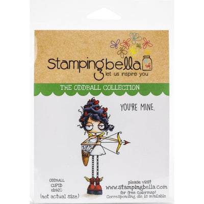 Stamping Bella - Oddball Cupid - Rubber Stamp Set - Crafty Wizard