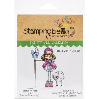 Stamping Bella - Oddball Little Bo Peep - Rubber Stamp Set - Crafty Wizard