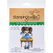 Stamping Bella - Oddball  Little Miss Muffett - Rubber Stamp Set - Crafty Wizard