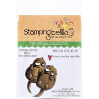 Stamping Bella - Oddball Otters - Rubber Stamp Set - Crafty Wizard