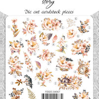 58pcs Sentimental Story die cuts - Crafty Wizard