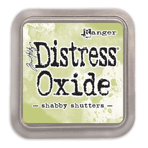 Tim Holtz Distress Oxide Ink Pad - Shabby Shutters - Crafty Wizard