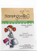 Stamping Bella  - Oddball Shopper - Rubber Stamp Set