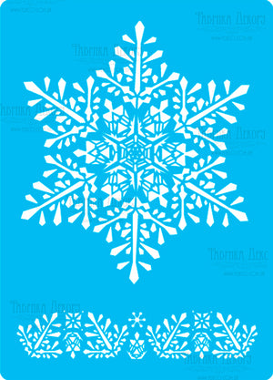 Christmas snowflake - Crafty Wizard