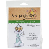 Stamping Bella  - Oddball Snow Queen - Rubber Stamp Set