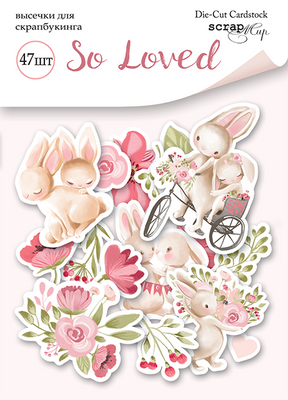47pcs So Loved die cuts - Crafty Wizard