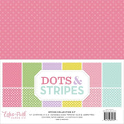 "12"" x 12"" paper pad - Spring Dots & Stripes"