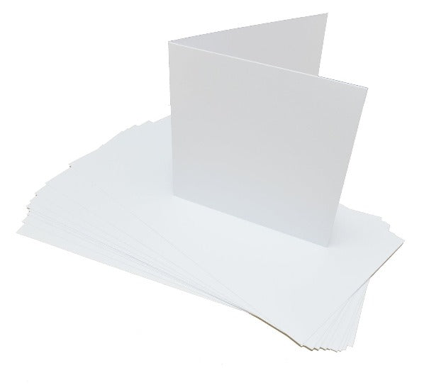 GoatBox 15cm card base with envelopes - matte white - Crafty Wizard