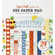 "6"" x 6"" paper pad - Summertime"