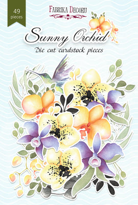 49pcs Sunny Orchid die cuts - Crafty Wizard