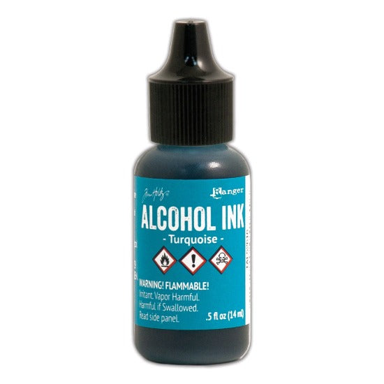 Tim Holtz Alcohol Ink - Turquoise