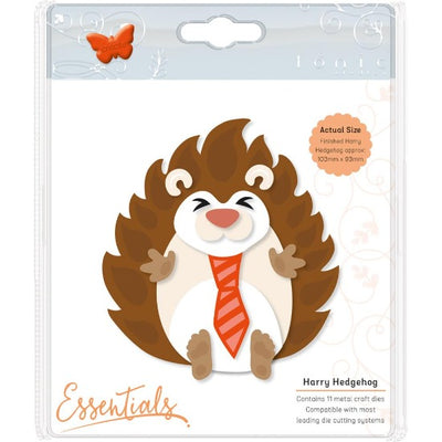 Tonic Studios - Essentials Woodland Buildables Dies Harry Hedgehog Cutting Die - Crafty Wizard