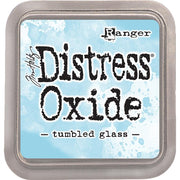 Tim Holtz Distress Oxide Ink Pad - Tumbled Glass - Crafty Wizard