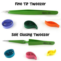 Quilling Tweezers Set - Crafty Wizard
