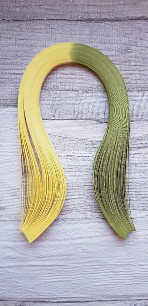 Two tone yellow and lime green - Crafty Wizard