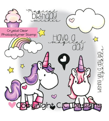 Unicorn Dreams Clear Stamps