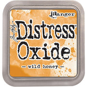 Tim Holtz Distress Oxide Ink Pad - Wild Honey - Crafty Wizard