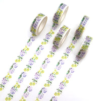 Yellow and Lilac Flowers - Crafty Wizard
