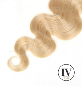 1pc. IV Barbie Blonde Virgin Brazilian 13x4 Frontal