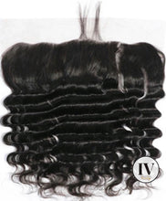 Load image into Gallery viewer, IV Deep Wave  1b 13X4 Lace Frontal