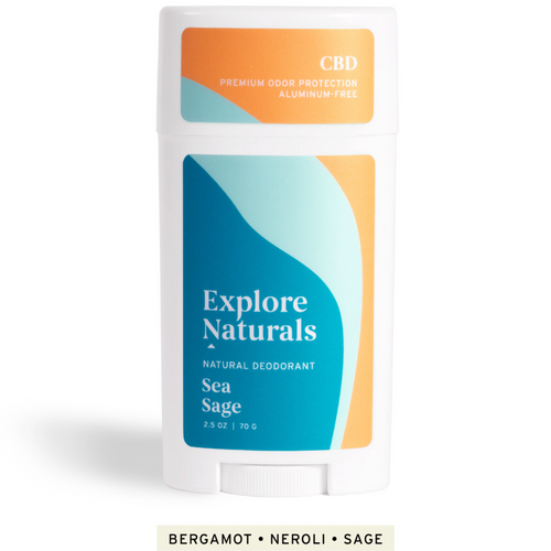 Natural CBD Deodorant |  60 MG
