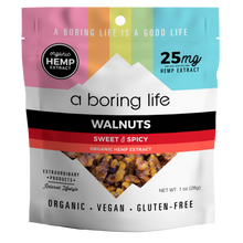 Load image into Gallery viewer, Sweet & Spicy Roasted Walnuts | 25 MG