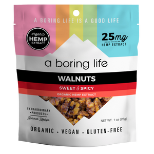 Sweet & Spicy Roasted Walnuts | 25 MG