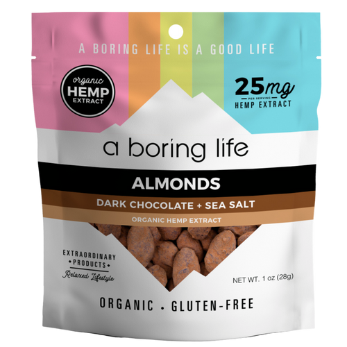 Dark Chocolate + Sea Salt Roasted Almonds | 25 MG