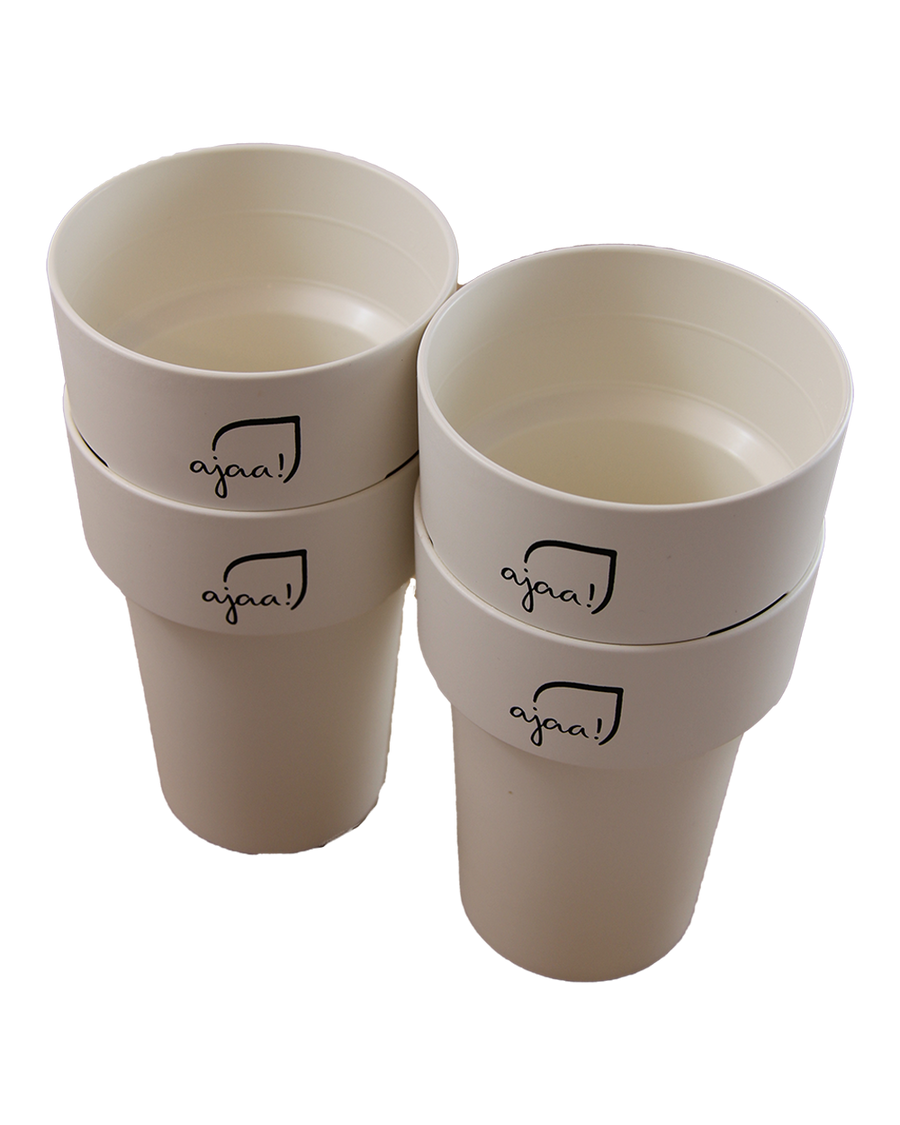 ajaa! Cup 400ml - white Set