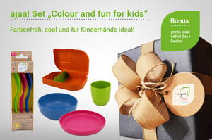 "ajaa! Set ""Colour and fun for kids"""