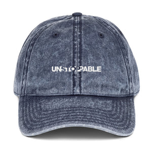 Unstoppable - Vintage Cotton Twill Cap