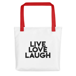 Live Love Laugh - Tote bag