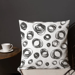 Circles - Premium Pillow