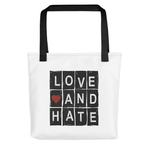 Love and Hate - Tote bag