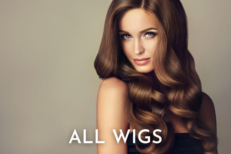 hop Women's Human & Synthetic Hair Wigs