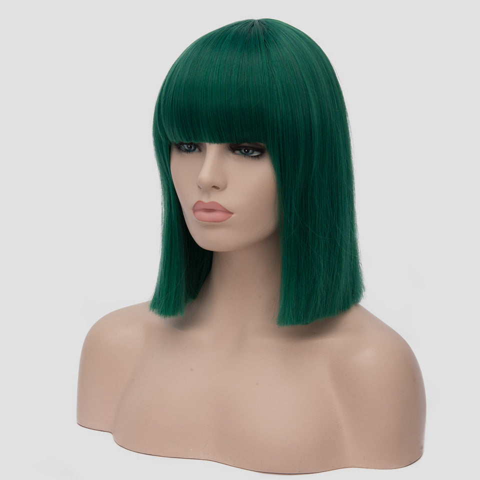 Shoulder Length Bob Synthetic Wigs
